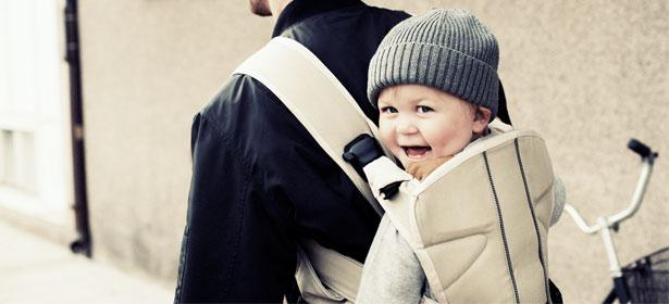 En portant votre bébé