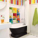 10 Idées d'aménagement de salles de bains adaptées aux enfants